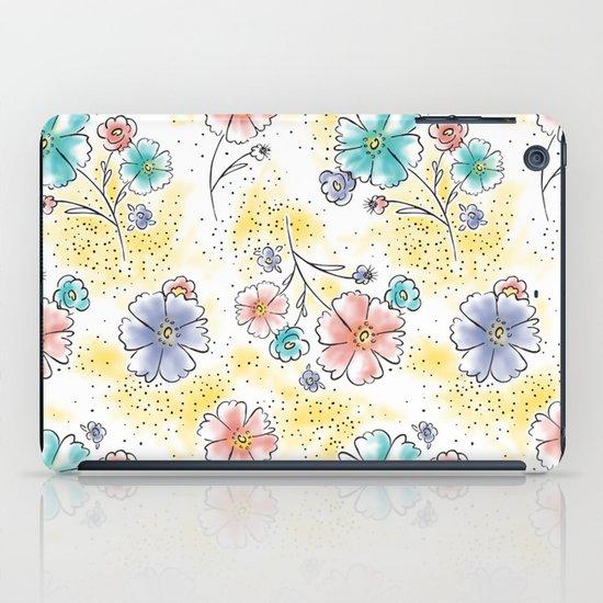 Brilliant Blooms iPad Case
