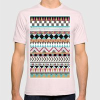 Age Of The Aztec Mens Fitted Tee Light Pink SMALL