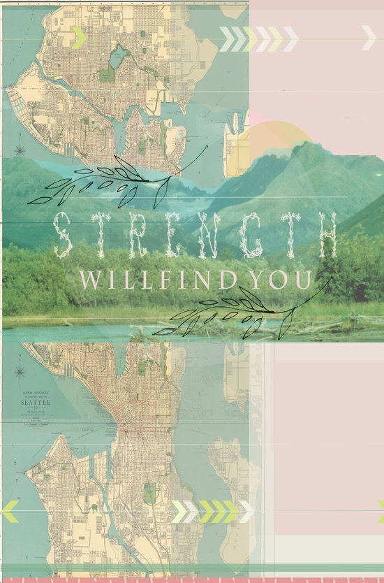Strength will find You Art Print