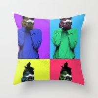 The Warhol Affect Throw Pillow