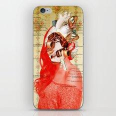 Lydias Black Lung iPhone & iPod Skin