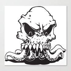 Squiddy Canvas Print