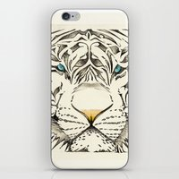 The White Tiger iPhone & iPod Skin