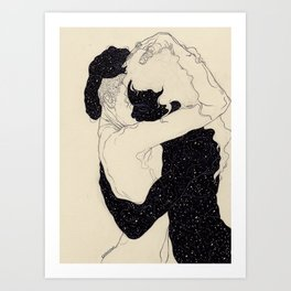 Art Print - You Are The Theory In My Head - Kaethe Butcher