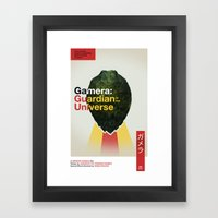 Guardian of the Universe Framed Art Print
