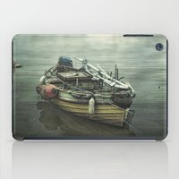 Moored for the night iPad Case