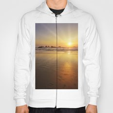 Sunset over the Pacific  Hoody