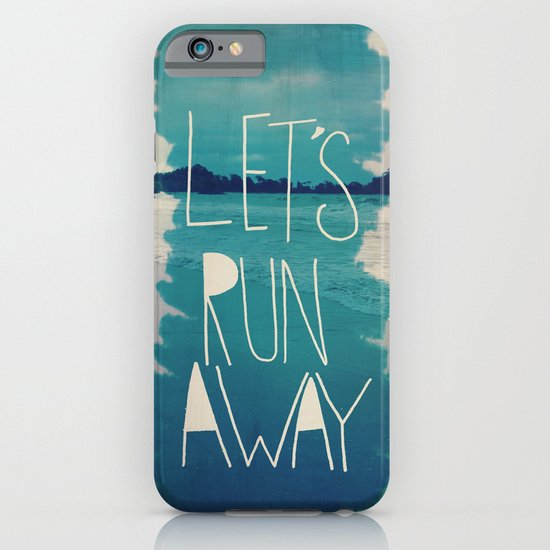 Let's Run Away: Manuel Antonio, Costa Rica iPhone & iPod Case