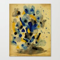 Floating Chemistry Canvas Print