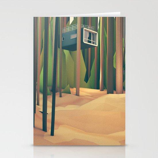 Treehouse Stationery Card