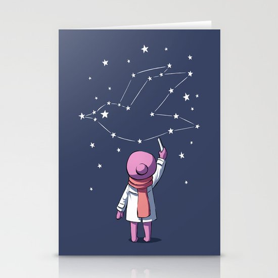 Constellation Stationery Card