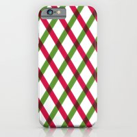 Holiday Ribbon Pattern iPhone 6 Slim Case