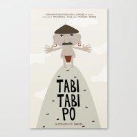 Tabi Tabi Po (Philippine… Canvas Print