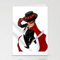 Tuxedo Mask x Andres Bonifacio Stationery Cards