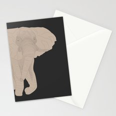 All lines lead to the...Inverted Elephant Stationery Cards