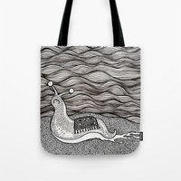 Sad Snail Tote Bag