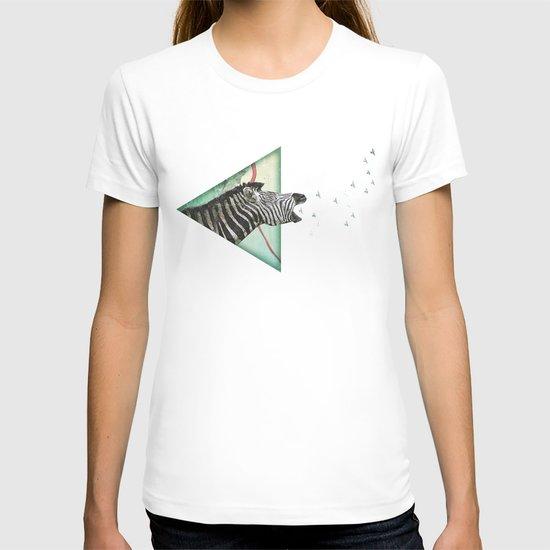 roaring silence T-shirt