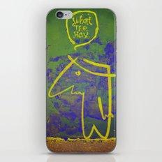wth? man iPhone & iPod Skin