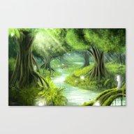 Forest Spirits Canvas Print