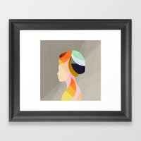 On & On Framed Art Print