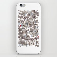 mapping home 4 iPhone & iPod Skin
