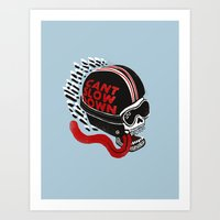 Can't Slow Down Art Print