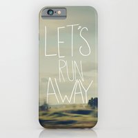 iPhone & iPod Case featuring Let's Run Away by Leah Flores