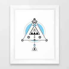 Modern Alchemy C1 Framed Art Print