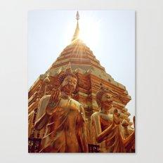 Blessed Buddha Canvas Print