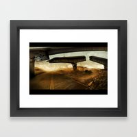 The Rope (hang On) Framed Art Print