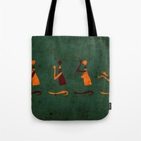 Forms of Prayer - Green Tote Bag