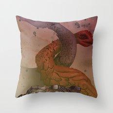 dragons de Cluny Throw Pillow