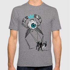 The Taming  Mens Fitted Tee Tri-Grey SMALL