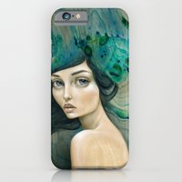 mermaid iPhone & iPod Cases featuring Mermaid by Mandy Tsung