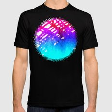 Performing color Black SMALL Mens Fitted Tee