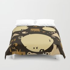 Geometry and equation Duvet Cover