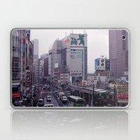Shinjuku Skyline Laptop & iPad Skin