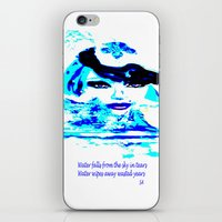 Water Women_02 iPhone & iPod Skin