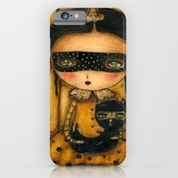 The Halloween Witch And The Black Cat iPhone 6 Slim Case