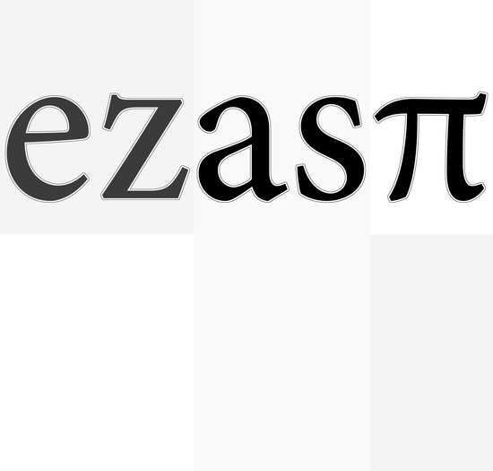 easyasπ Art Print