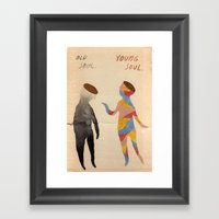 Old Soul, Young Soul Framed Art Print