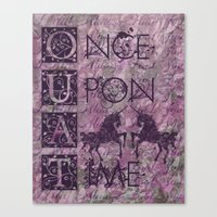 Once Upon A Time - AWESOME TV Show Canvas Print