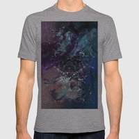 Black Hole Apprehension Mens Fitted Tee Athletic Grey SMALL