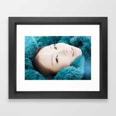 korean beauty Framed Art Print