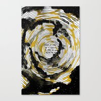 i fell in love with the sun Canvas Print
