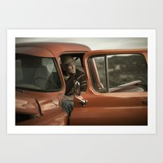 Joshua Tree Portrait 5 Art Print