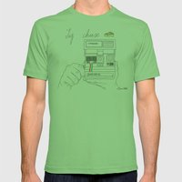 Say Cheese Mens Fitted Tee Grass SMALL