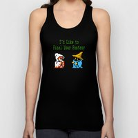 I'd Like to Final Your Fantasy Unisex Tank Top