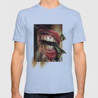 Animal Tomb  Mens Fitted Tee Athletic Blue SMALL