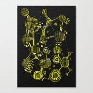 Abstract 1 - Circles And… Canvas Print